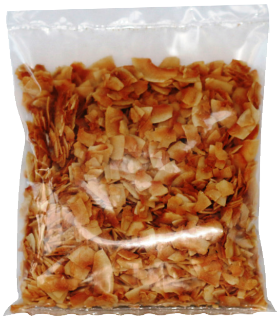 Kokosnusschips im Folienbeutel ab 60g
